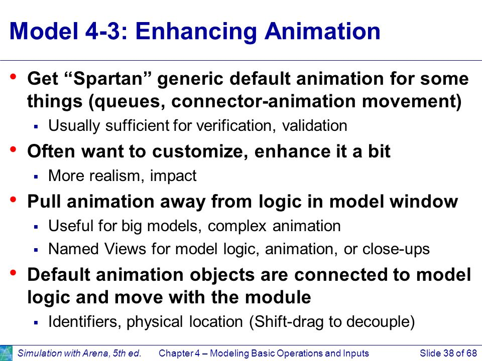 Model 4-3: Enhancing Animation