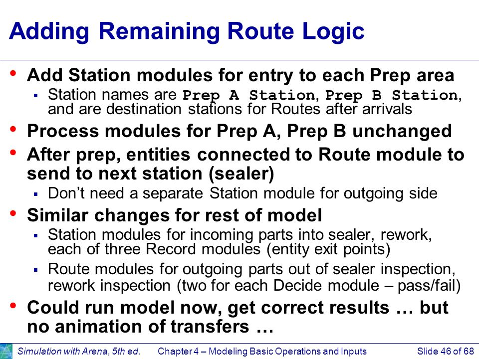 Adding Remaining Route Logic