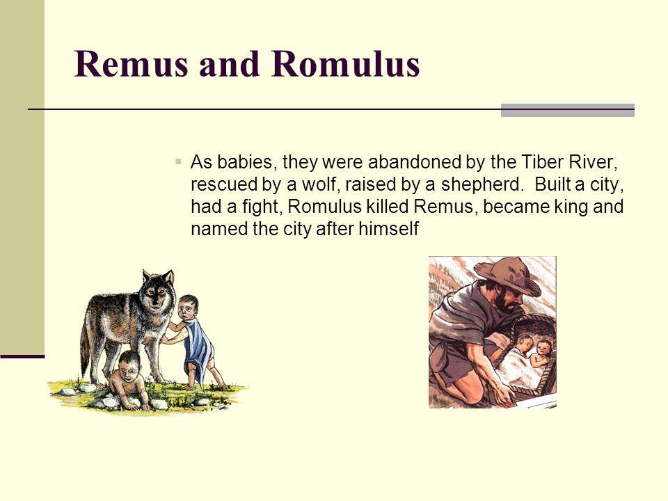 Remus and Romulus