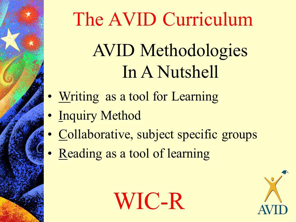AVID Methodologies In A Nutshell