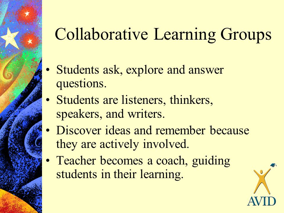 Collaborative Learning Groups