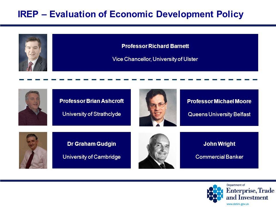 IREP – Evaluation of Economic Development Policy
