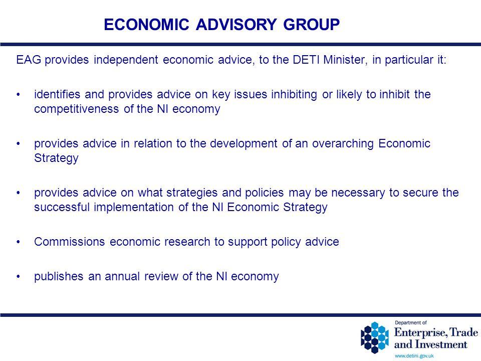 ECONOMIC ADVISORY GROUP
