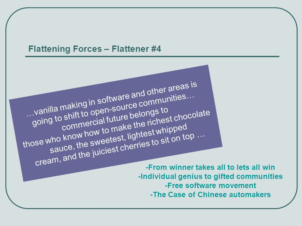 Flattening Forces – Flattener #4