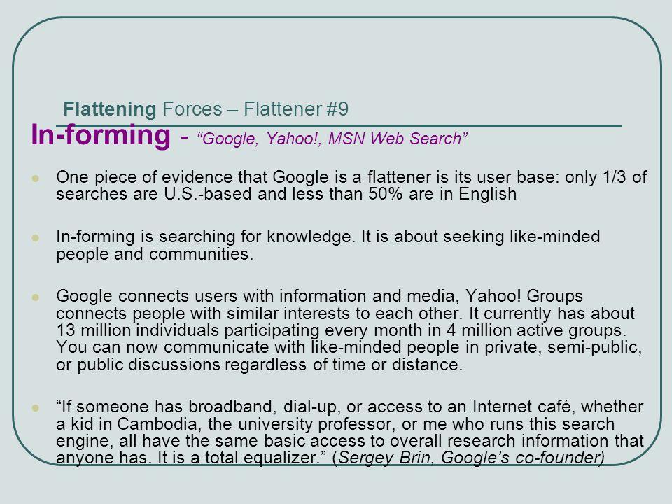 Flattening Forces – Flattener #9