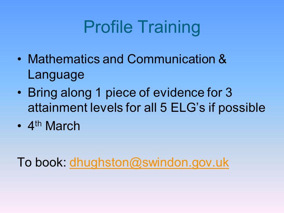Profile Training Mathematics and Communication & Language