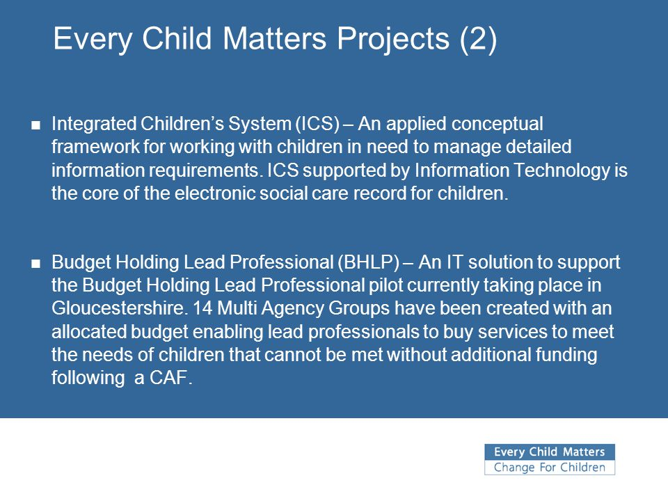 Every Child Matters Projects (2)