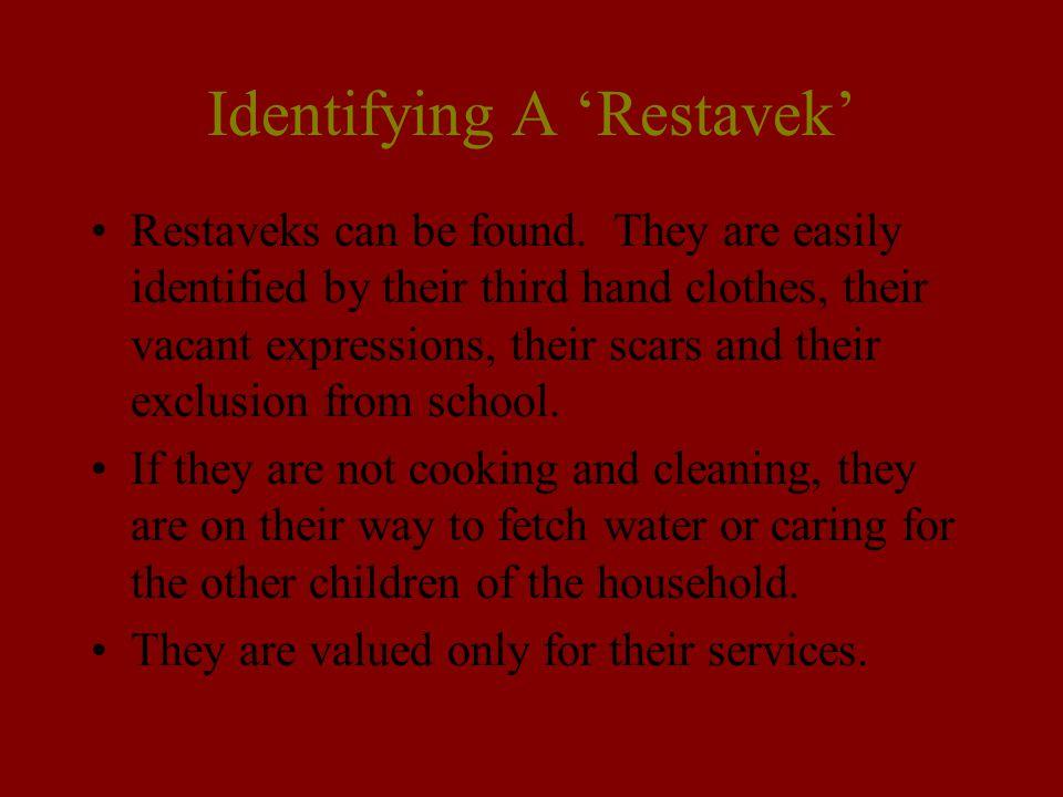 Identifying A 'Restavek'