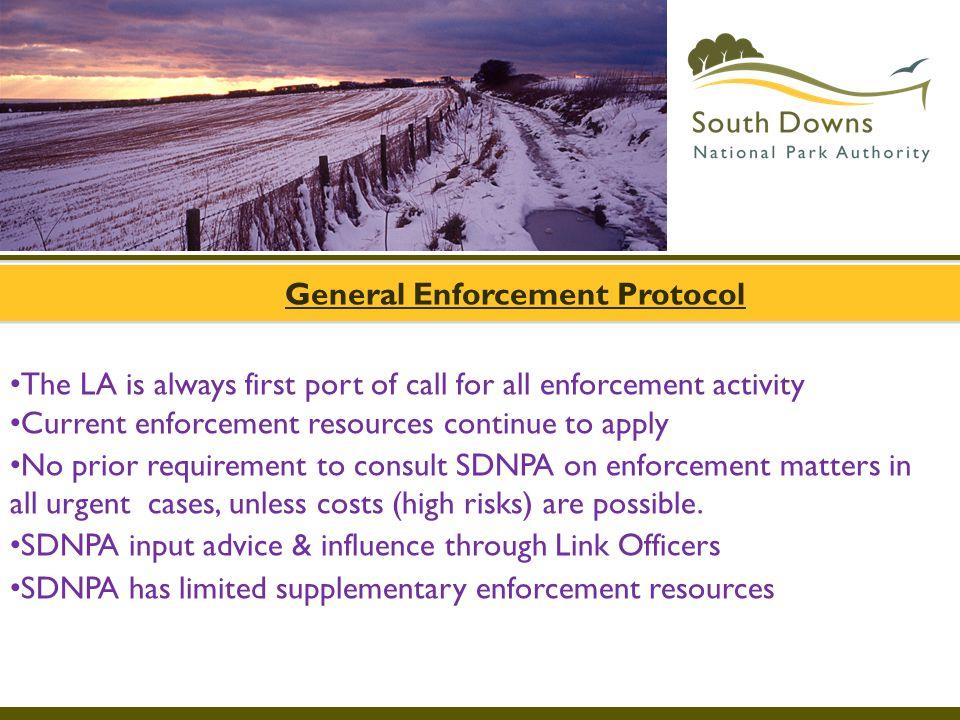 General Enforcement Protocol
