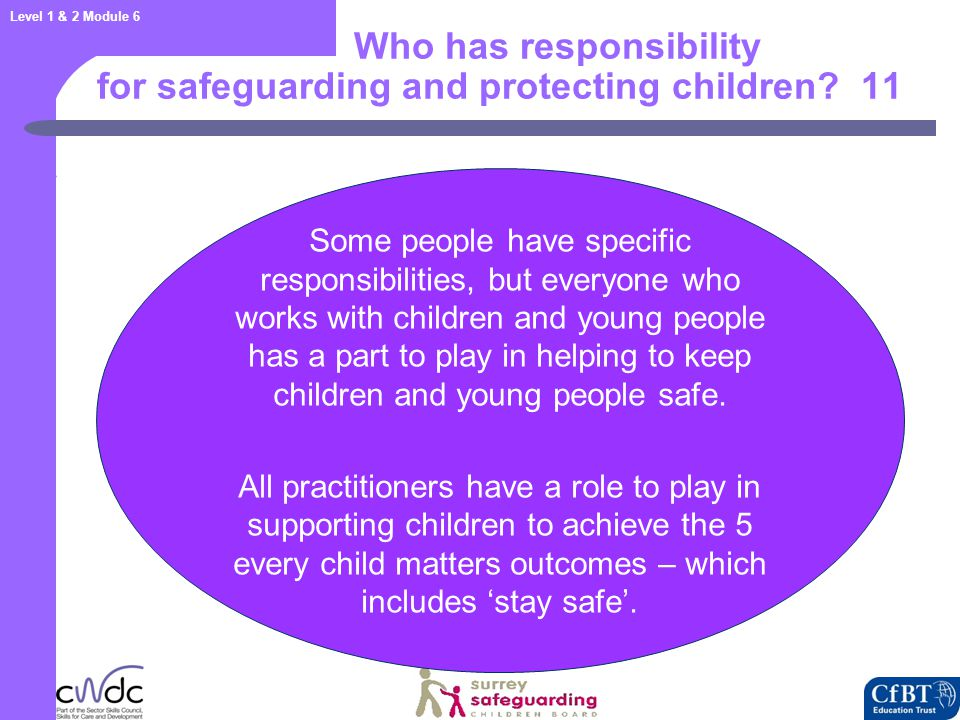 Safeguarding promoting welfare and child protection 12