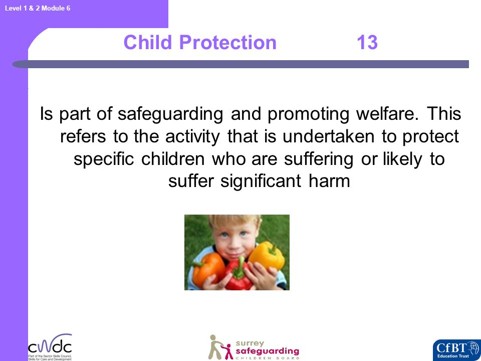 Activity 3: Core Safeguarding Documents 14