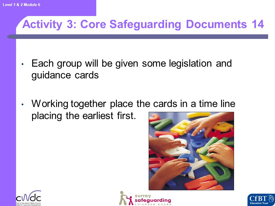 Core Safeguarding Documents 15