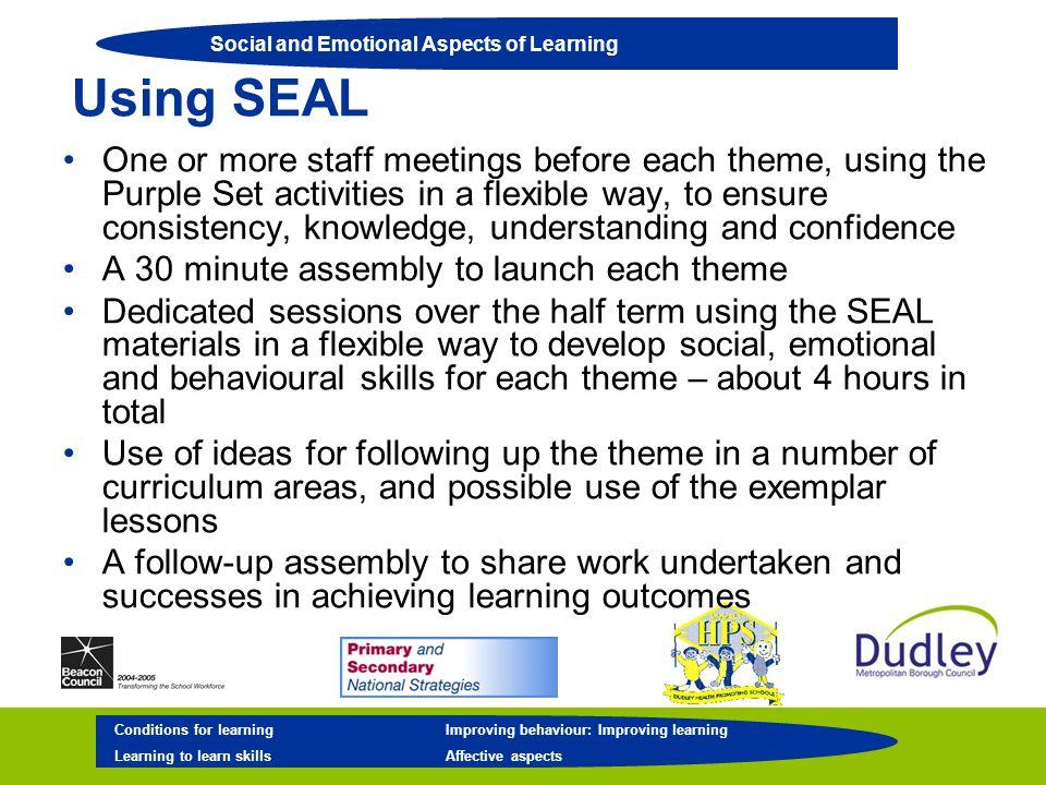 Using SEAL