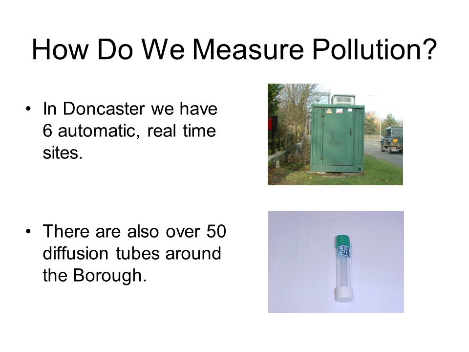 How Do We Measure Pollution