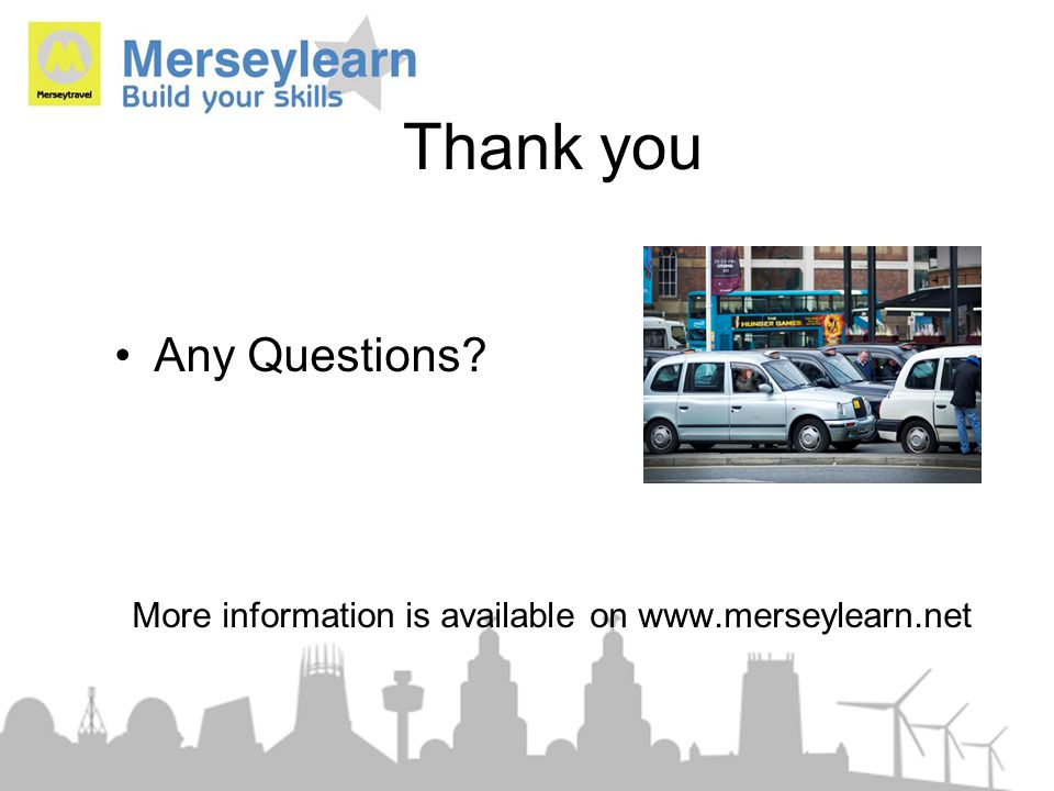 More information is available on www.merseylearn.net