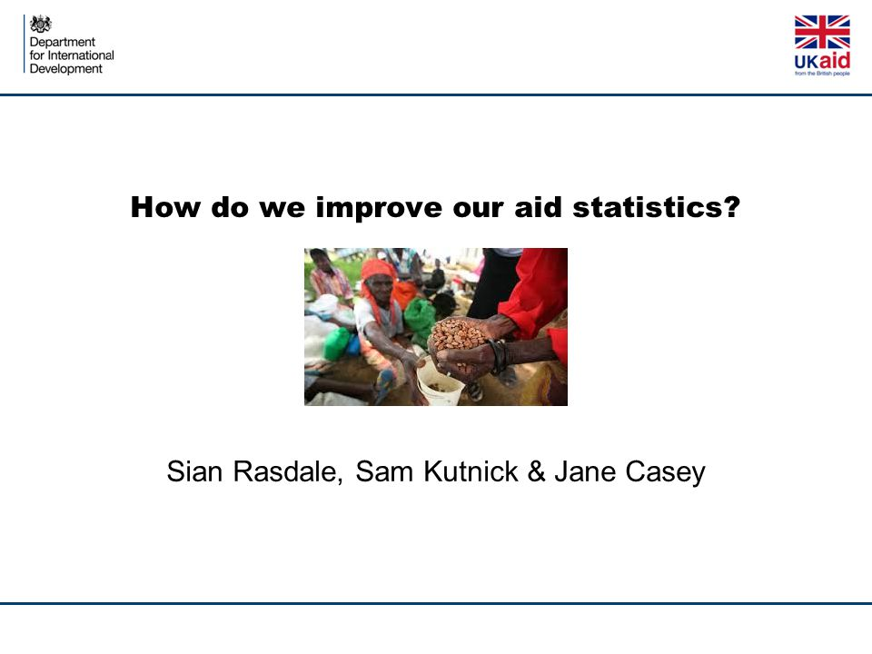 How do we improve our aid statistics