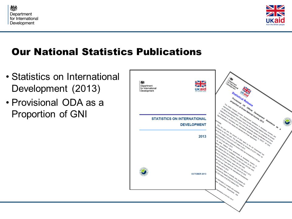 Our National Statistics Publications
