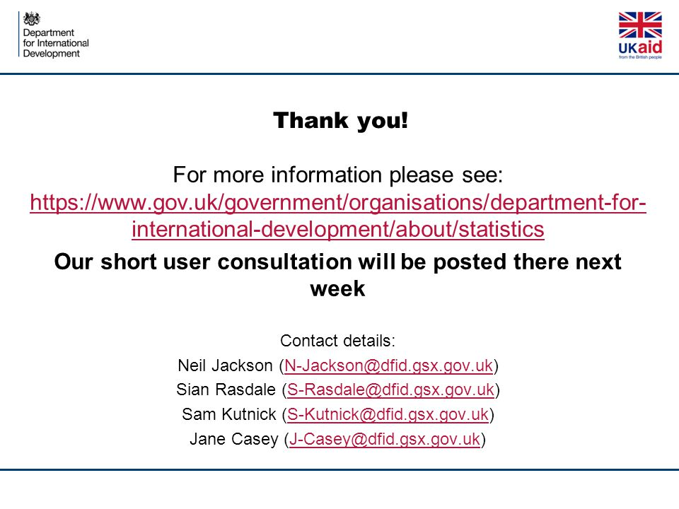 Our short user consultation will be posted there next week