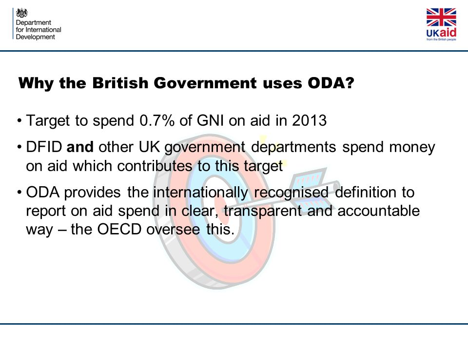 Why the British Government uses ODA
