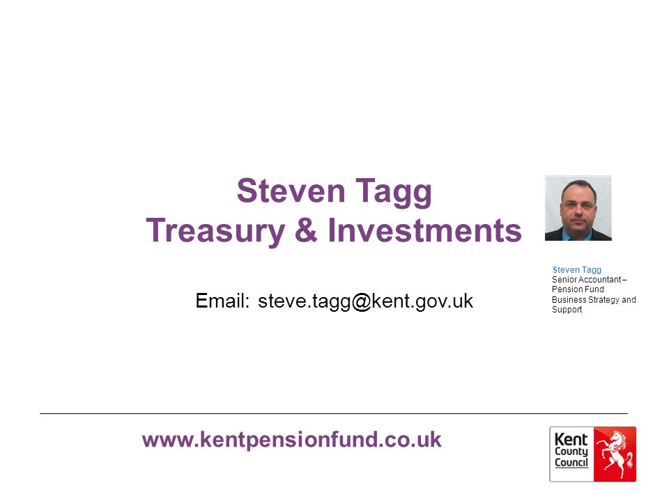 Steven Tagg Treasury & Investments