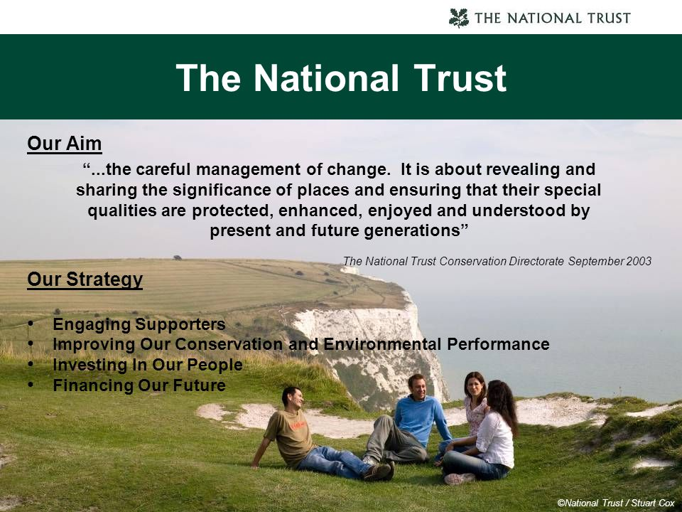 The National Trust Our Aim Our Strategy