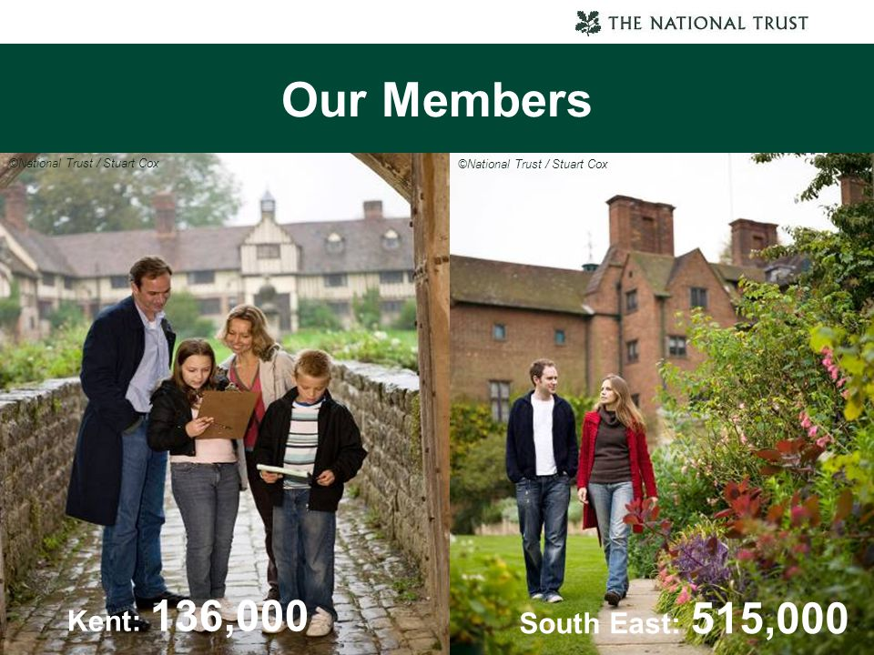 Our Members Kent: 136,000 South East: 515,000