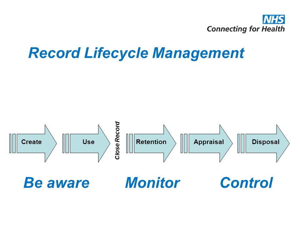 Record Lifecycle Management