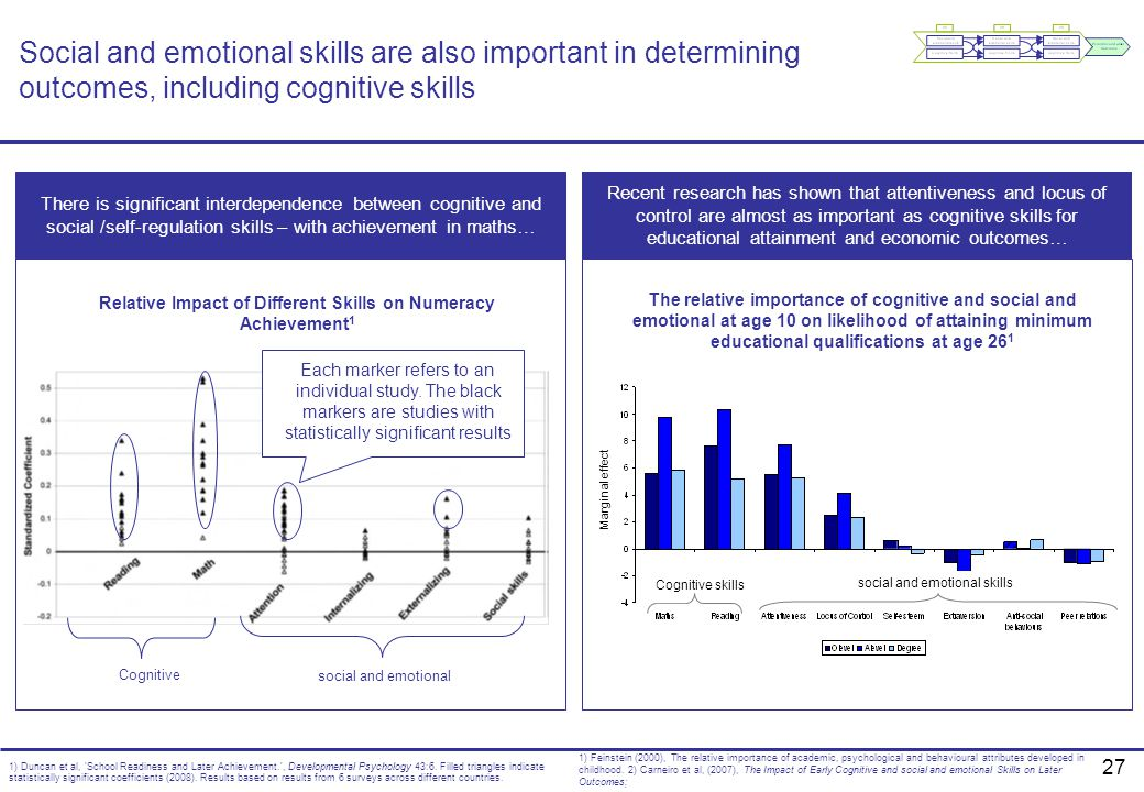 Relative Impact of Different Skills on Numeracy Achievement1