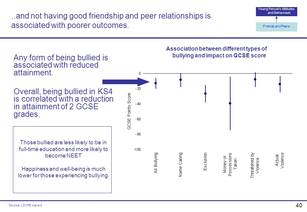 Young Person's Attitudes and Behaviours