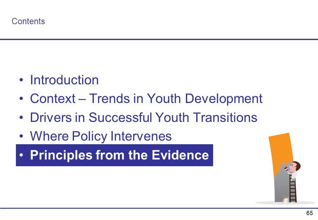 Context – Trends in Youth Development