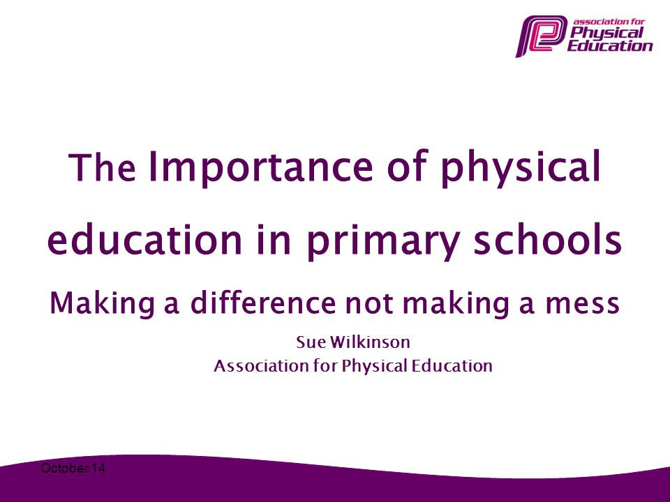 Sue Wilkinson Association for Physical Education