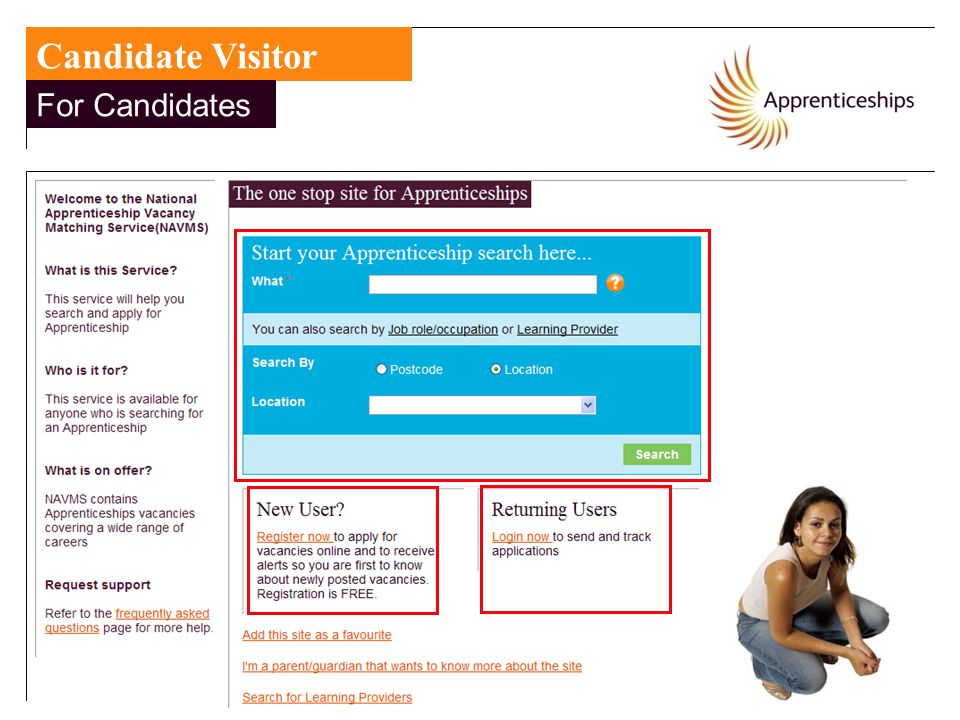 Candidate Visitor For Candidates