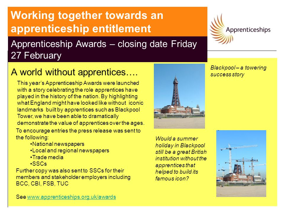 Working together towards an apprenticeship entitlement