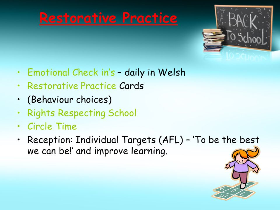 Restorative Practice Emotional Check in's – daily in Welsh