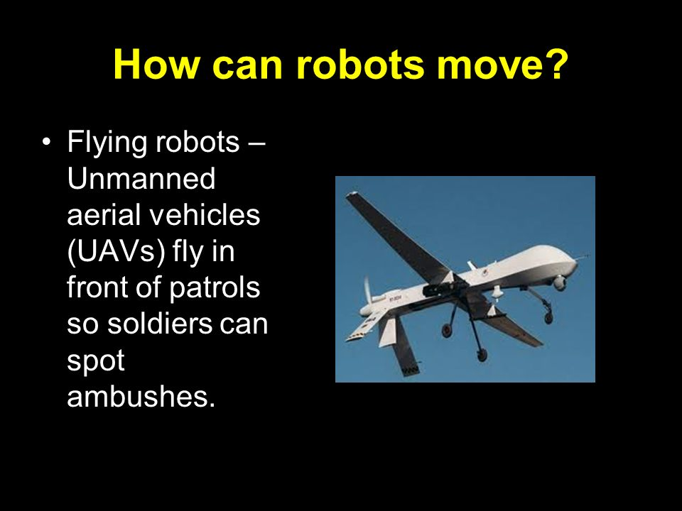 How can robots move.