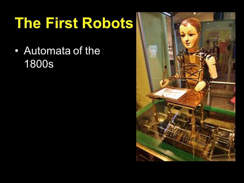 The First Robots Automata of the 1800s