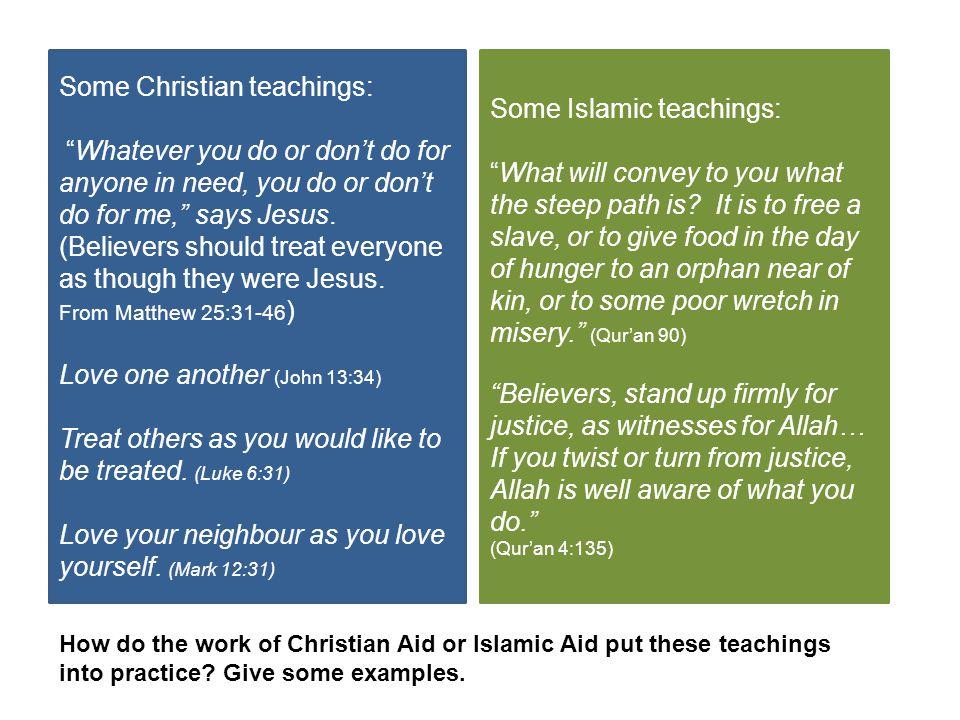 Some Christian teachings: