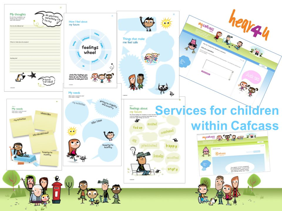 Services for children within Cafcass