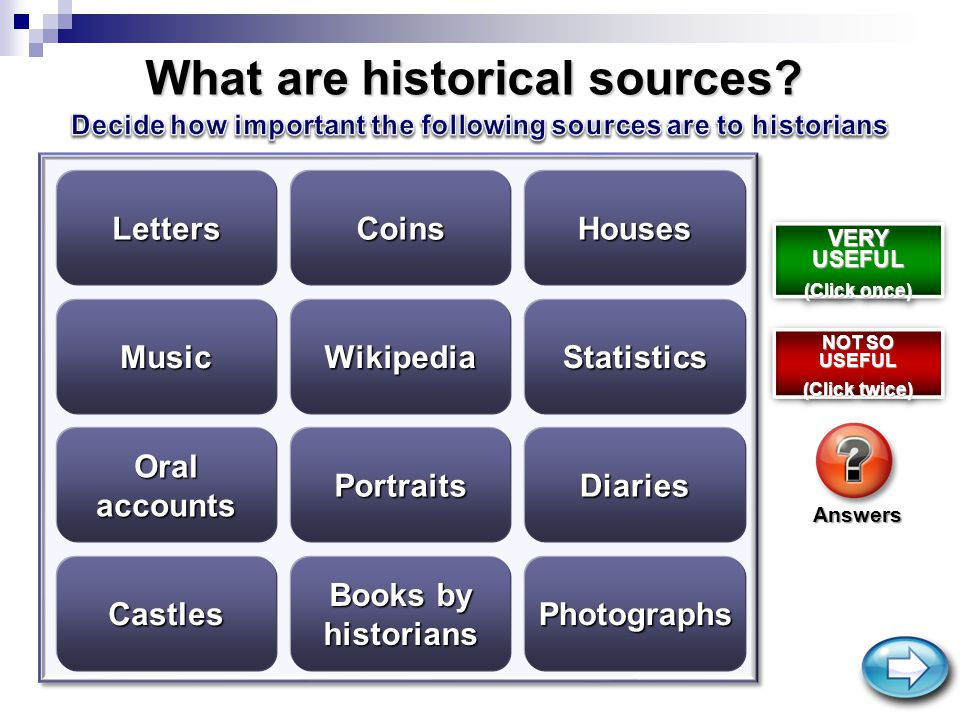 What are historical sources