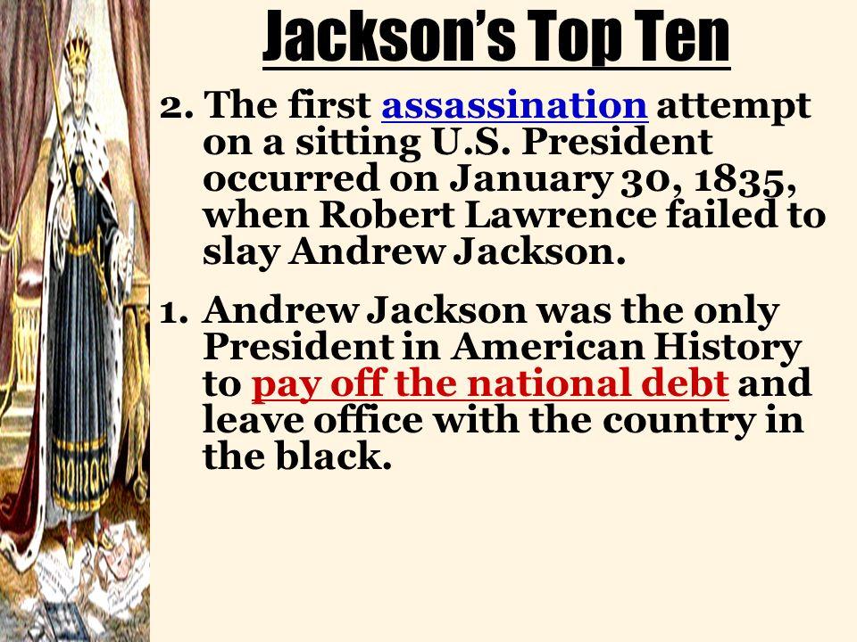 Jackson's Top Ten