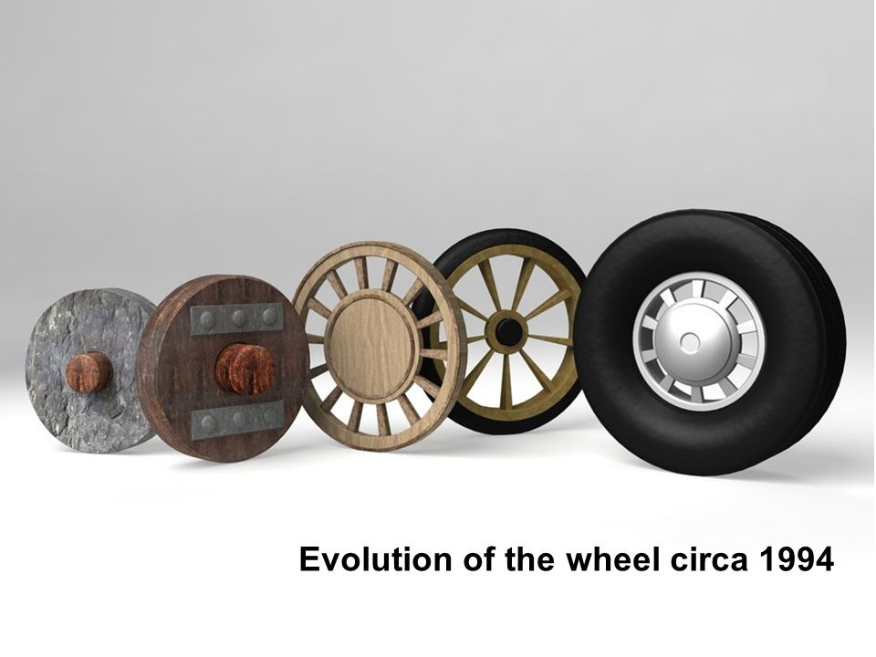 Evolution of the wheel circa 1994