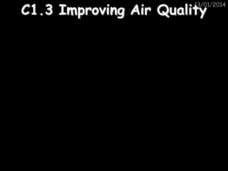 C1.3 Improving Air Quality