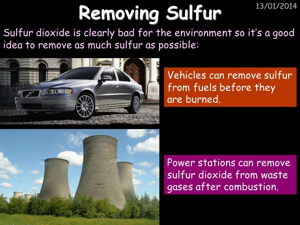Removing Sulfur 25/03/2017. 25/03/2017. 25/03/2017.