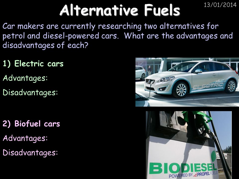 Alternative Fuels 25/03/2017.