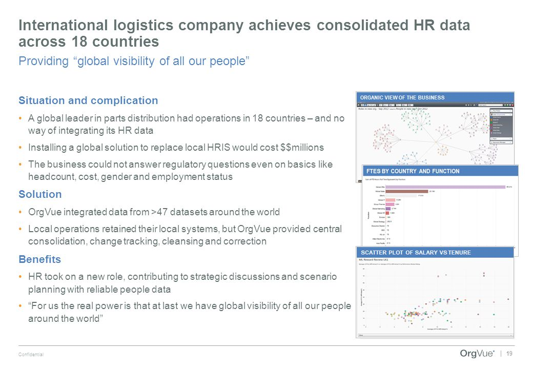 International logistics company achieves consolidated HR data across 18 countries