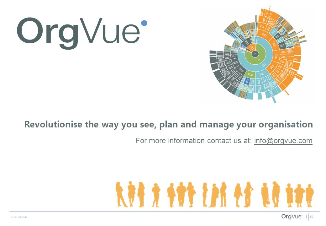 Revolutionise the way you see, plan and manage your organisation