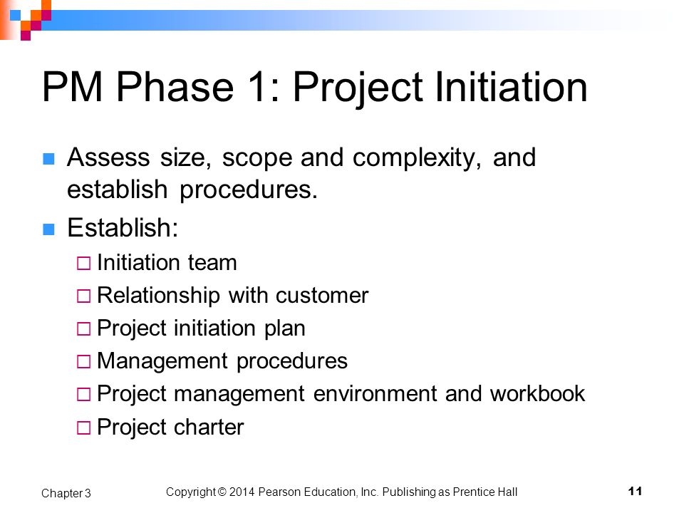 PM Phase 1: Project Initiation