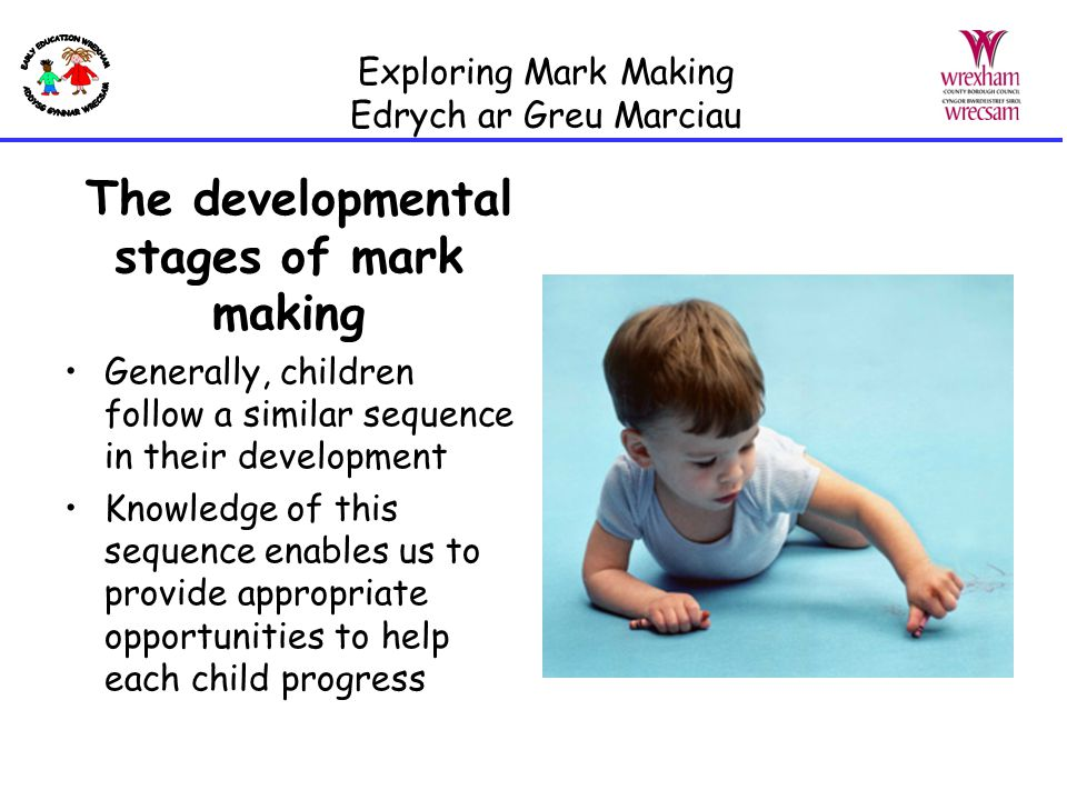 The importance of mark making in Early Years