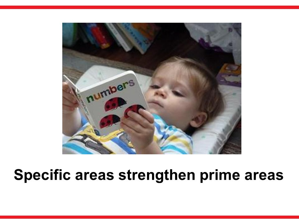 Specific areas strengthen prime areas