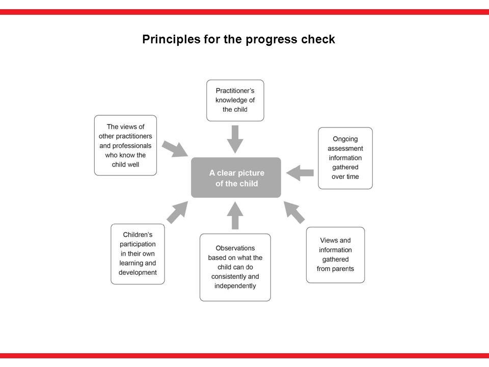Principles for the progress check